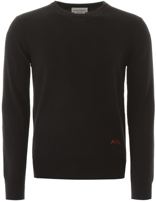 Alexander McQueen Sweater With Logo Embroidery
