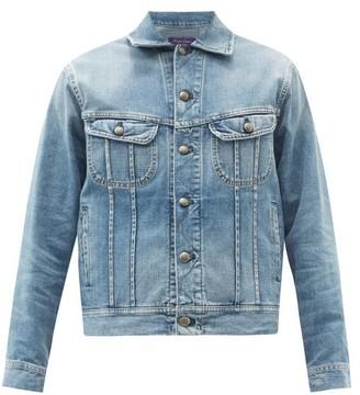 Ralph Lauren Purple Label Trucker Denim Jacket - Blue