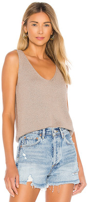 John & Jenn by Line Melange Cotton Tank