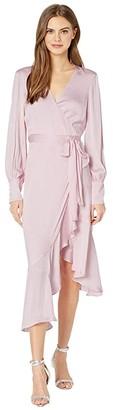 Bardot Sofie Midi Dress (Pink Rose) Women's Clothing