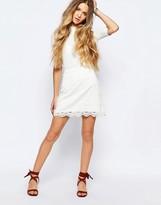 Hollister Lace Mini Skirt
