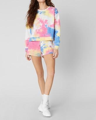 Express Bb Dakota Tie-Dye Lounge Sweatshirt