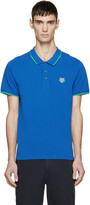 Kenzo Blue Tiger Crest Polo