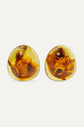 Valet Studio Felicity Tortoiseshell Resin Earrings