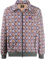 Needles Floral Embroidered Bomber Jacket