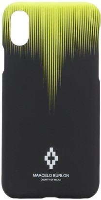 Marcelo Burlon County of Milan abstract print iPhone XS phone case