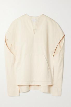 Deveaux Ripley Convertible Cotton-twill Tunic - White