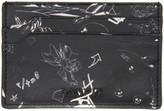 Lanvin Black Landscape Card Holder