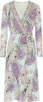 Etro Paisley wrap dress