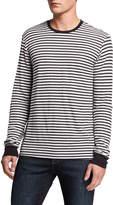Frame Men's Striped Thermal Long-Sleeve T-Shirt