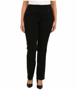Jag Jeans Women's Plus Size Peri Pull On Straight Leg Jean