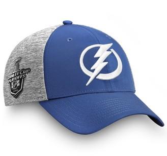 Tampa Bay Lightning Fanatics Branded 2019 Stanley Cup Playoffs Bound Flex Hat - Blue