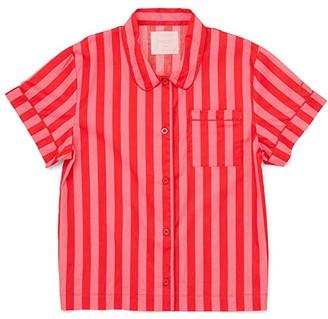 ban.do Short Sleeve Leisure Shirt (Multi) Women's Clothing