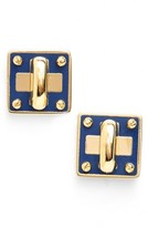 Marc by Marc Jacobs Women's 'Turnlock' Enamel Stud Earrings