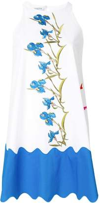 VIVETTA floral embroided loose dress