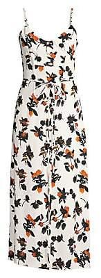 Derek Lam Women's Floral Camisole Dress