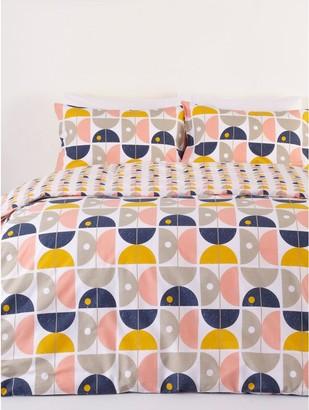 M&Co Geometric print duvet set