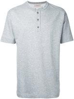 Factotum button neck T-shirt - men - Cotton - 46