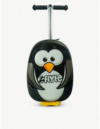 Selfridges Percy the Penguin scooter suitcase