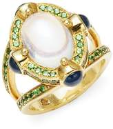 Temple St. Clair Women's Celestial 18K Yellow Gold Statement Ring