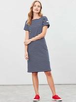Joules Riviera Long Jersey Dress - Navy