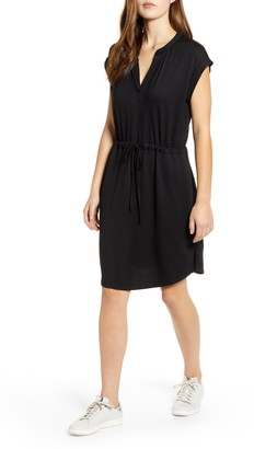Gibson x Hi Sugarplum! Como Drawstring Jersey Dress