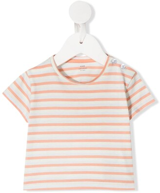 Knot Sunset striped T-shirt