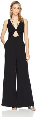 Jill Stuart Jill Women's Wide Leg Jumpsuit with Keyhole