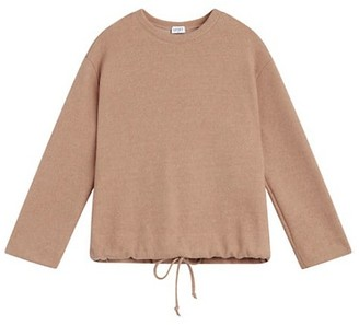 Leset Sieera Drawstring Crewneck Sweater