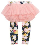 Rock Your Baby Infant Girl's Painted Garden Leggings