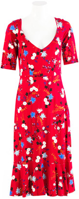 Erdem Red Viscose Dresses