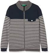 Benetton Boy's L/s Sweater Cardigan