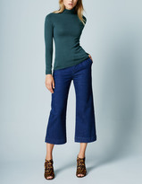 Boden Fitted Roll Neck Sweater