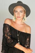 Heather Gardner - Arizona Turquoise Chain Earrings