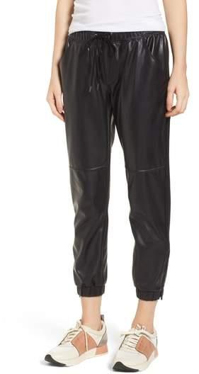 David Lerner Ankle Zip Jogger Pants
