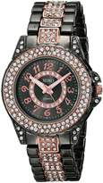 XOXO Women's XO5750 Analog Display Analog Quartz Two Tone Watch
