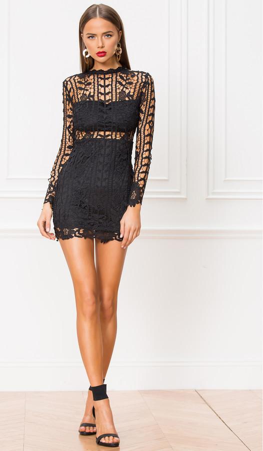superdown Destinee Floral Lace Dress