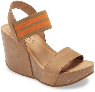 Bos. & Co. Platform Wedge Sandal