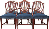 One Kings Lane Vintage Shield Back Dining Chairs, S/6