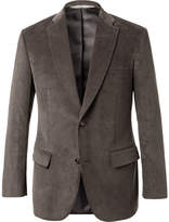 Freemans Sporting Club - Grey Cotton-corduroy Blazer - Gray