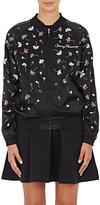 Opening Ceremony Women's Embellished Silk Bomber Jacket-BLACK