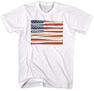 American Classics Men's Tee Shirts WHITE - White Bat Flag Tee - Men