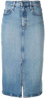 Nobody Denim Lexi denim skirt