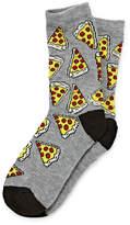 Arizona Boys 1 Pack Pizza Print Sock