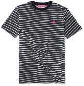 McQ by Alexander McQueen Slim-Fit Wrinkled Striped Cotton T-Shirt