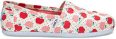 Toms Apples Print Canvas Women's Classics