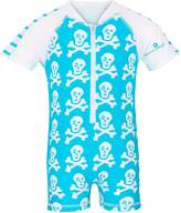 Snapper Rock Short Sleeve Skeleton Sunsuit