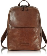 The Bridge Marrone Leather Men's Backpack