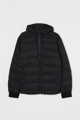H&M Water-repellent Puffer Jacket - Black