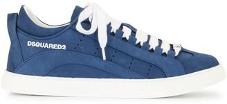 DSQUARED2 Logo Lace-Up Low-Top Sneakers